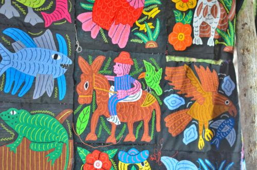 クナ族のモラ
