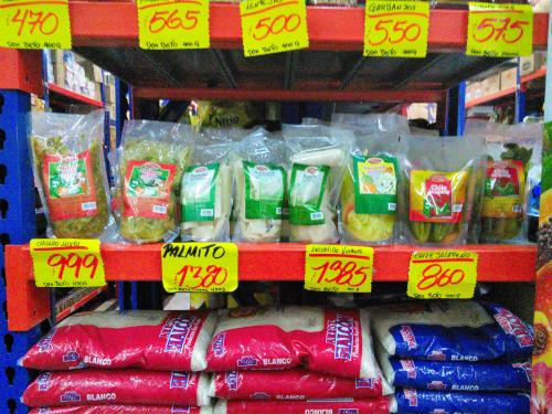 コスタリカの野菜のピクルス