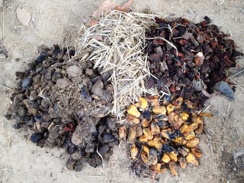 有機肥料の材料