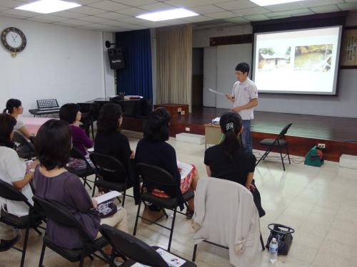 パナマ日本人学校で無電化集落の暮らしの紹介