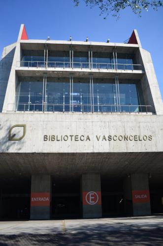 バスコンセロス図書館の外観