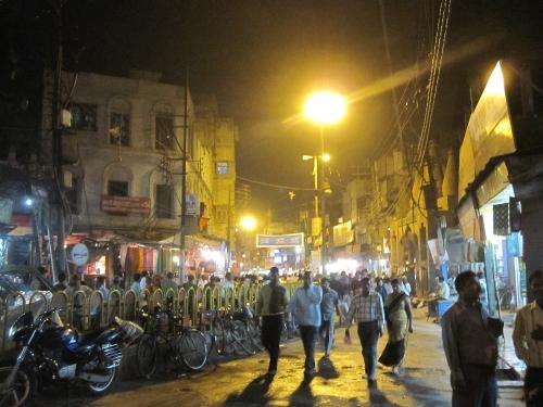インド・バラナシの夜