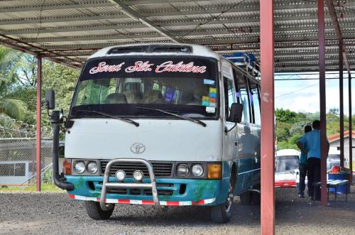 サンタカタリーナ行きのバス