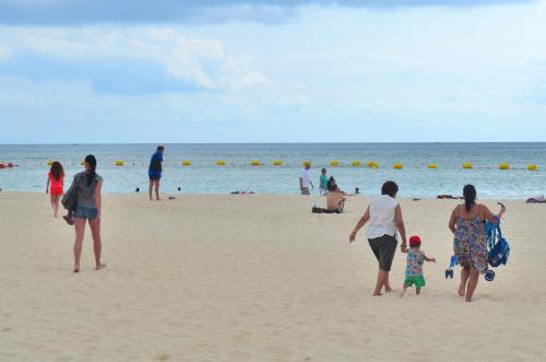 プラヤデルカルメンの砂浜