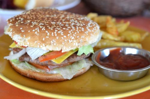 サンタカタリーナのハンバーガー