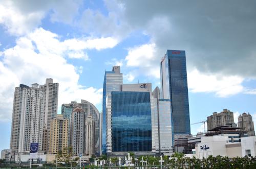 パナマシティの高層ビル
