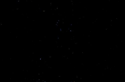 サンタカタリーナの星空
