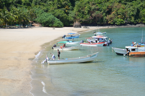 コイバ島のボート