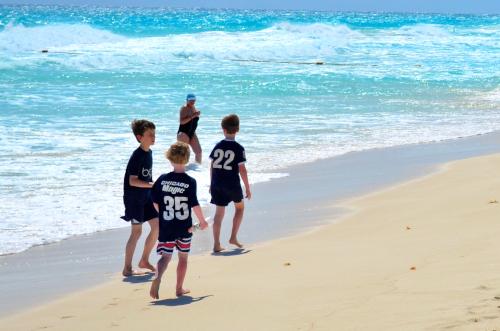子供と海岸