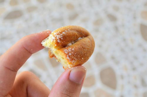 女性のパンの一部