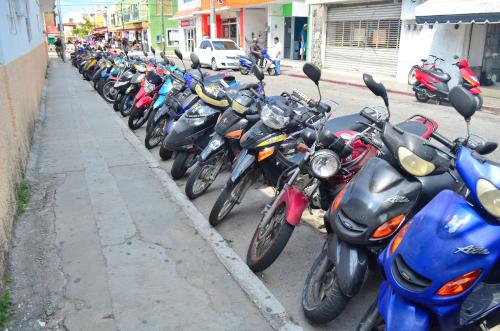 コスメル島のバイク