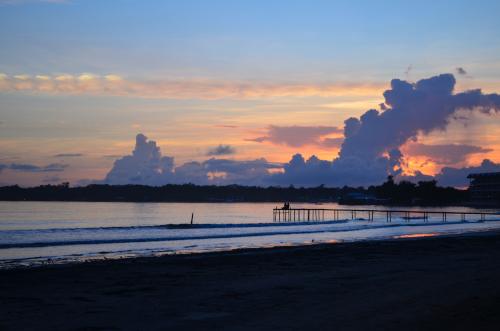 ボカスデルトロの夕陽