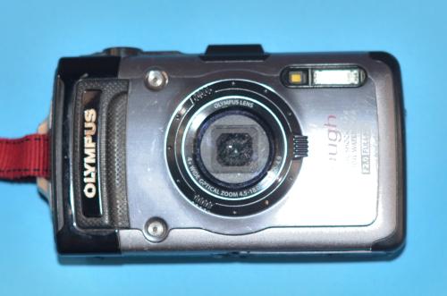 復活した防水カメラ