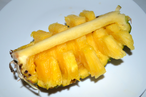 完成したモテるパイナップル