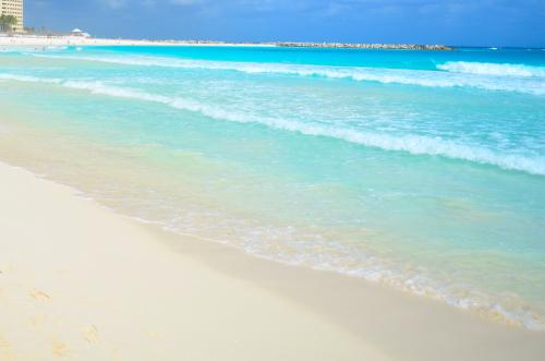 カンクンの綺麗な海