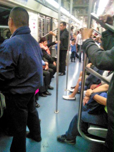 治安が悪いメキシコシティの地下鉄