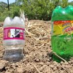 ペットボトル製水やり器