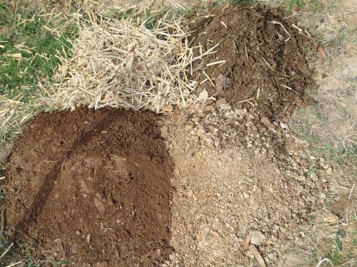 袋栽培用の土