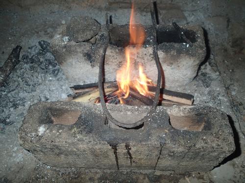 火をおこす