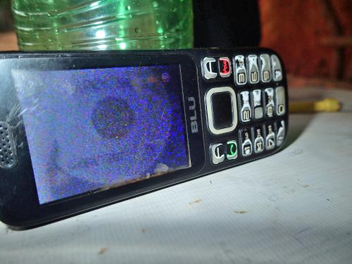 携帯電話でテレビを見る