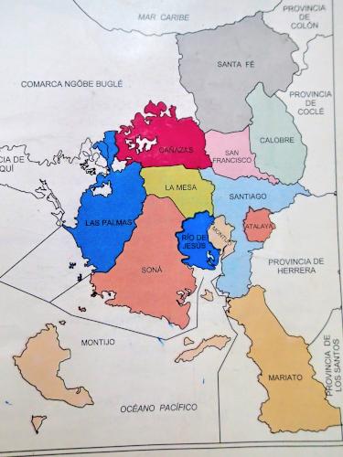 ベラグアス県内の12の郡