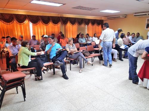 農業技師の会議