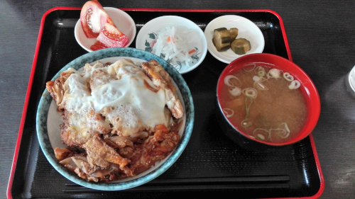 高橋の玉子とじソースカツ丼