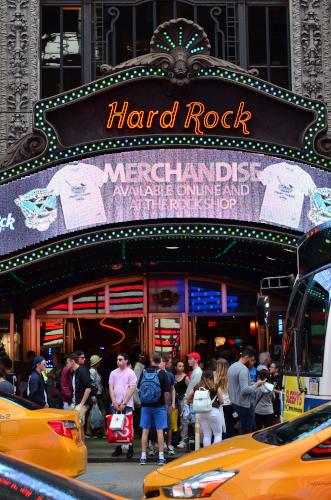 ニューヨークのハードロック