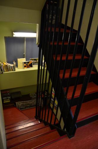 ゲストハウス品川宿の階段