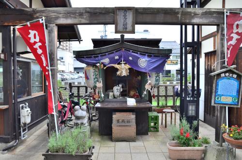 カエルの神社