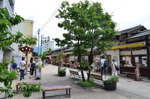 松本市のなわて通り