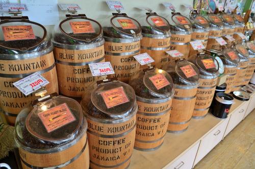 世界中から集めたコーヒー豆
