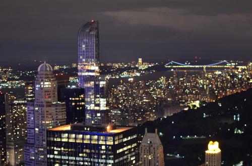 タイムズスクエアからの夜景