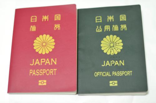 2冊のパスポート