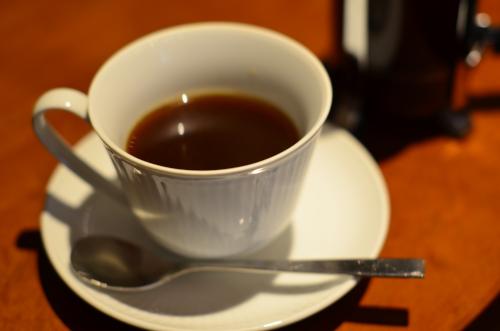 喫茶店のパナマ産コーヒー