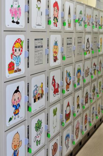 長野県市町村別ゆるキャラコインロッカー