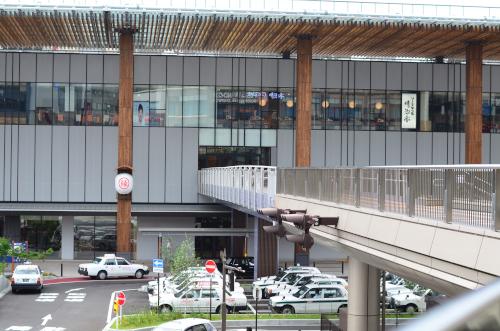 長野駅の2階入り口