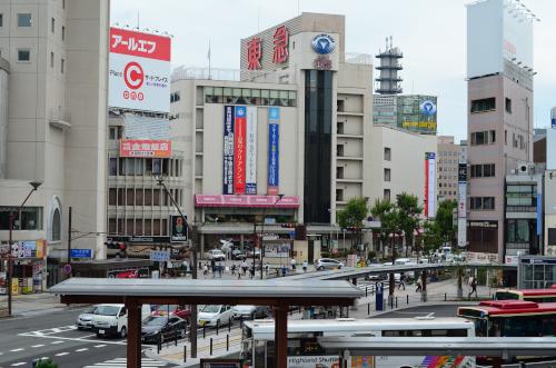 長野駅の駅前