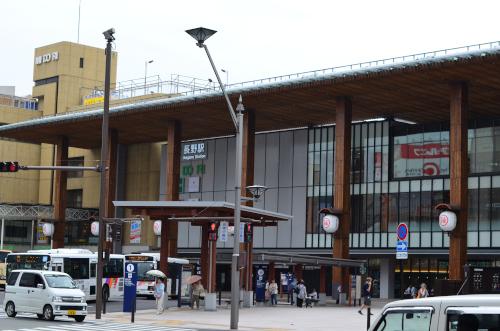 長野駅正面