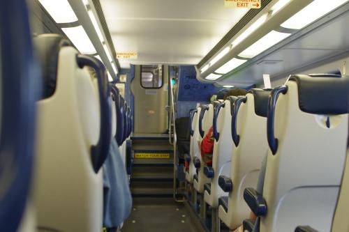 ニューヨークの電車