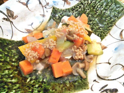 鶏肉とお野菜