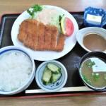 長野県飯田市のランチなら信濃屋のみそカツ定食がおすすめ!甘辛いみそダレが中京圏の人には懐かしい美味しさ