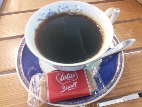 預言カフェのコーヒー