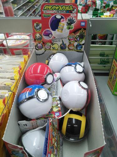 ポケモンボールのお菓子