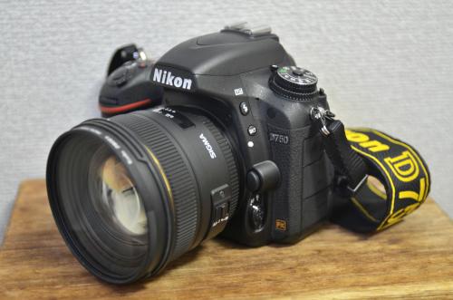 一眼レフカメラD750