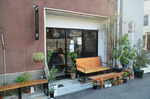 東京ヒュッテの入り口