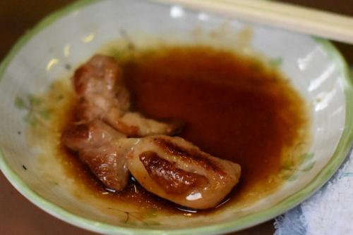 鮎川バーベキュウの鶏肉焼き
