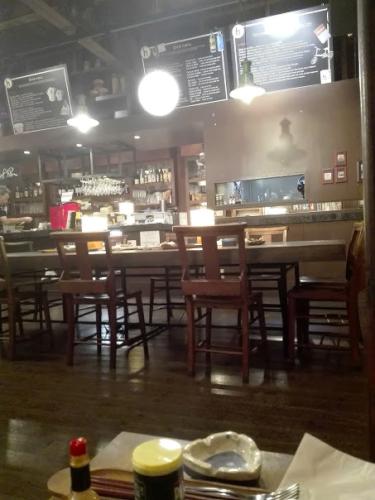 hiyoriカフェの店内