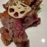 長野駅前の居酒屋ふく八は牛肉岩塩焼粗切わさびが絶品なので、肉食系女子とのデートにおすすめ!