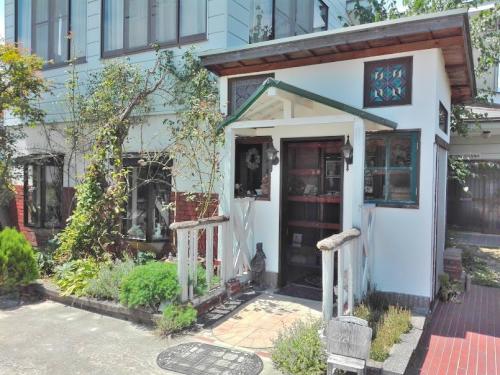 駒ヶ根市のアンシャンテの入り口